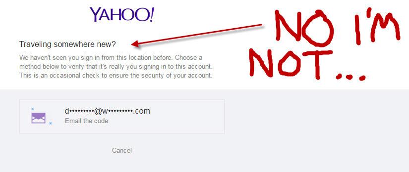 Fuck you Yahoo Mail